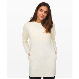 NWT Lululemon Restful Intention Sweater Ivory M